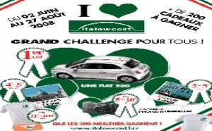 Italowcost fait gagner une Fiat 500 au meilleur vendeur !