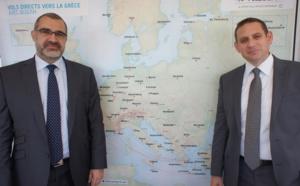 Aegean Airlines met 17% de sièges supplémentaires sur la France en 2016
