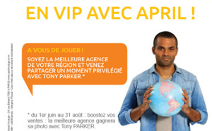 April International Voyage : un challenge des ventes pour rencontrer Tony Parker