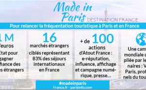 Destination Paris: campaign to make foreign tourists return to Paris