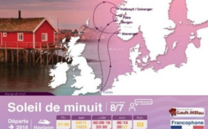 Croisières de France : circuits en Europe du Nord au départ de Calais pendant l'été 2016