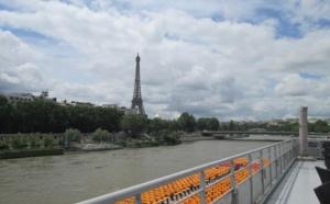 Crue de la Seine : les armateurs fluviaux prévoient une baisse de 40% de leur chiffre d'affaires