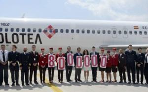Volotea célèbre son 8 millionième passager
