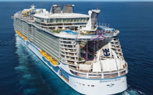 Royal Caribbean International : l'Harmony of the Seas est à Marseille