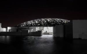 Louvre Abu Dhabi : la construction avance avec l'éclairage du dôme du musée