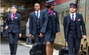 Thalys : les agents portent de nouveaux uniformes