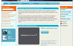 Air New Zealand lance la version française de Airnewzealandtrade.com