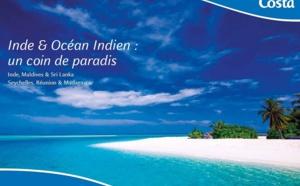 Costa Croisières : une mini-brochure Inde et Océan Indien