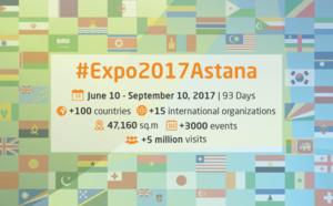 EXPO 2017 à Astana : ouverture des ventes pour les voyagistes