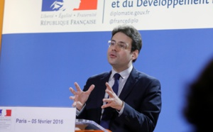 """Matthias Fekl: """"France is still the primary tourism destination in the world…"""""""