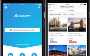 Skyscanner ajoute la recherche d'hôtels et de location de voiture