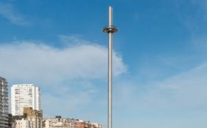 Angleterre : i360, la plus haute tour d'observation au monde, ouvre le 4 août 2016