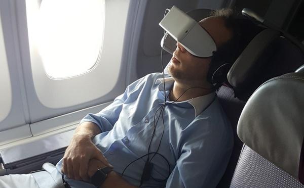Divertissement : Corsair fait monter des lunettes 3D à bord de ses appareils !