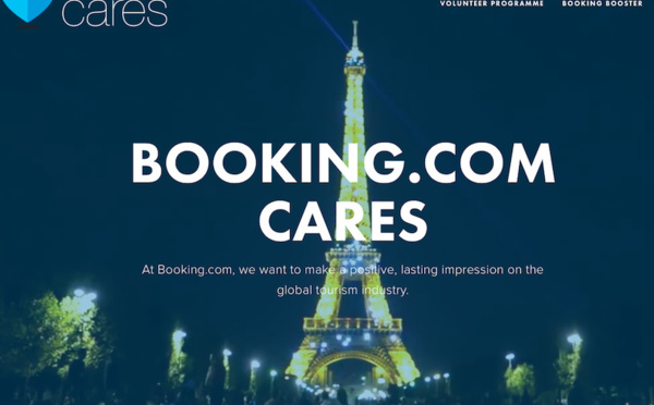 Booking recrute des start-up du tourisme durable