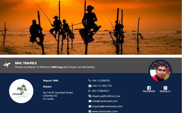 Sri Lanka : Mac Travels arrive sur DMCMag