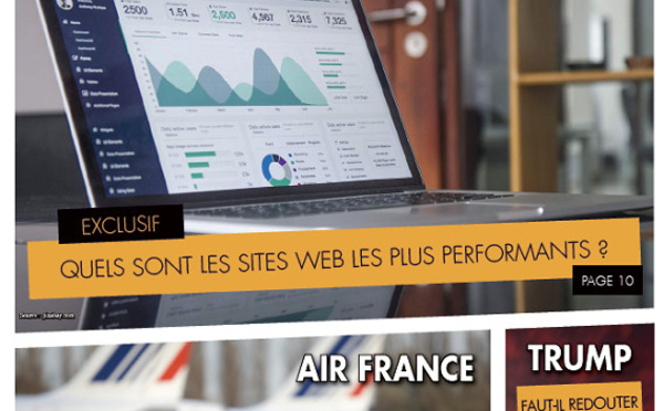 """""""Repères Hebdo"""" n°4 : dossier spécial performances des sites des voyagistes"""