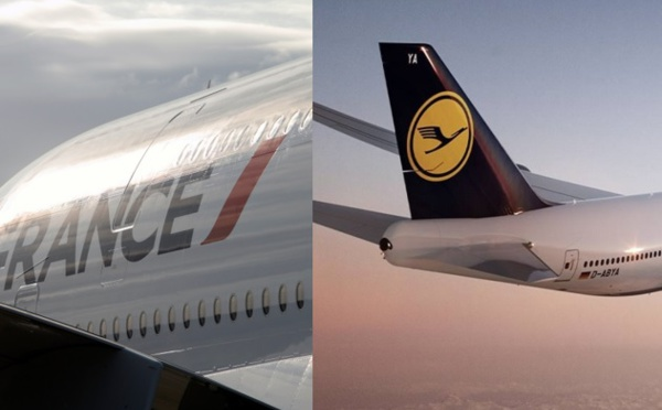 La Case de l'Oncle Dom : Air France, Lufthansa, y'a pas photo !