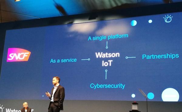 La SNCF choisit IBM et Watson pour ses projets connectés
