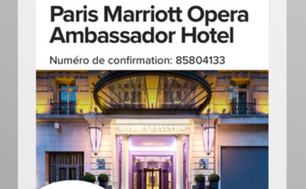 Marriott Mobile : nouvelle version de l'application du groupe hôtelier