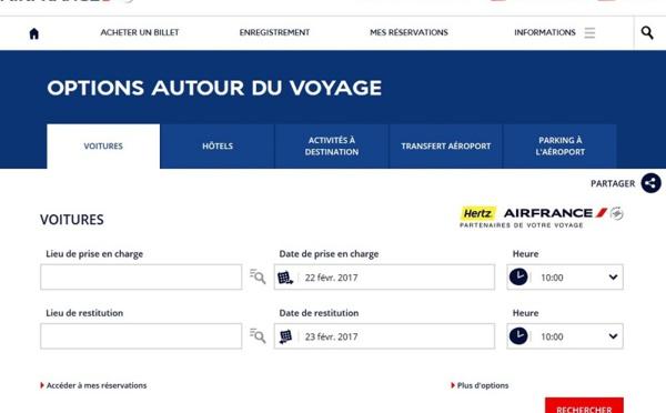 Air France et Hertz renouvellent leur partenariat exclusif pour 4 ans