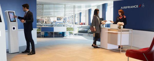 Paris-CDG : Air France ouvre un nouveau salon Business au terminal 2G