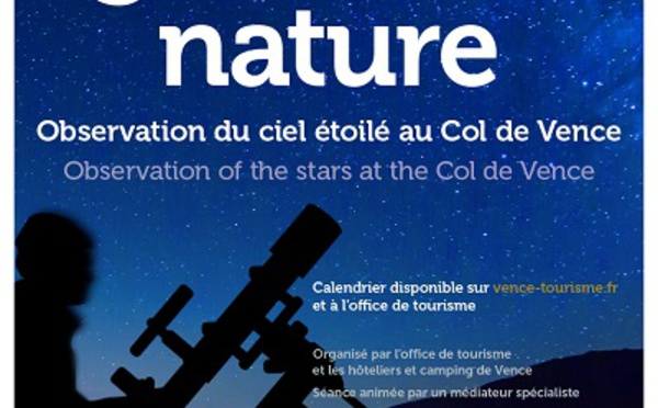 French Riviera : star gazing at Col de Vence