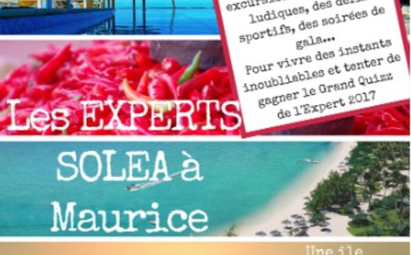 Solea sélectionne les participants du prochain méga éductour à l'Ile Maurice