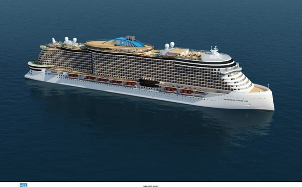 Norwegian Cruise Line dévoile le design de ses futurs navires Leonardo Class
