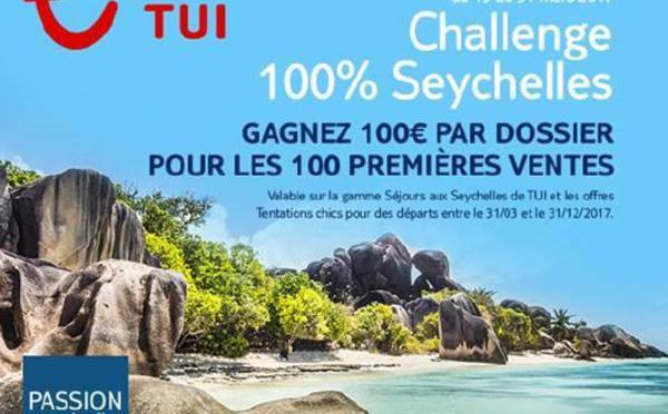 TUI offre 100 € en chèques-cadeaux aux agents qui vendent les Seychelles