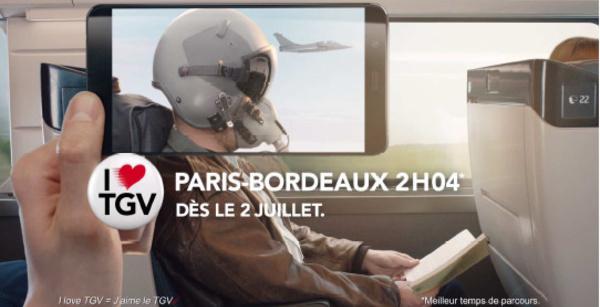 La SNCF diffuse une campagne TV pour le lancement de L'Océane et de TGV Ouest