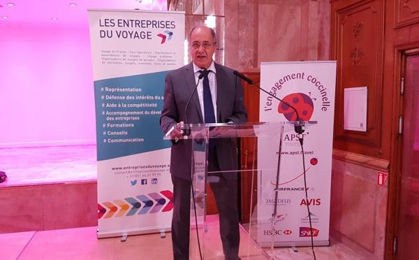Entreprises du Voyage : Jean-Pierre Mas réélu président à l'unanimité