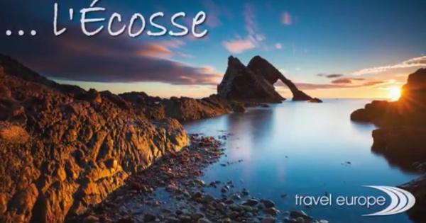 Réutilisez la vidéo Travel Europe pour présenter l'Ecosse à vos clients !