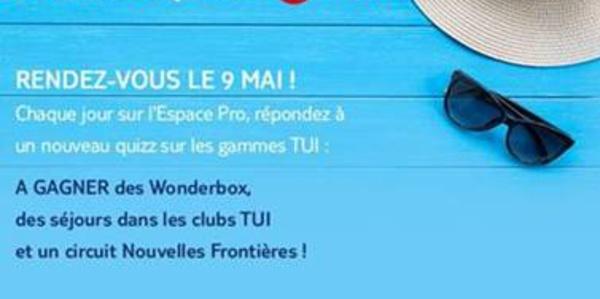 """TUI lance """"Le Grand Quizz"""" pour les agents de voyages !"""