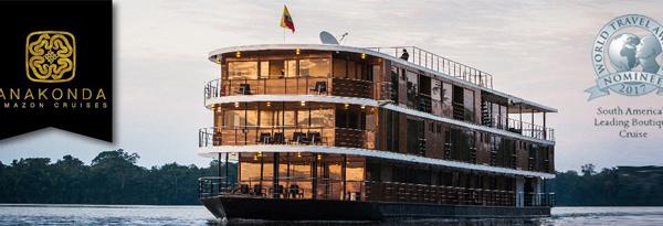 Les croisières Anakonda Amazon Cruises représentées par V. Islands Marketing