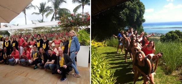 26 agents de voyages découvrent l'Ile Maurice