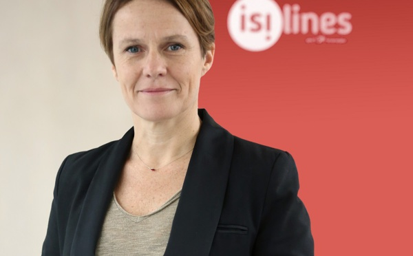 isilines : Angélique Mantel nommée directrice marketing, communication, CRM et digital
