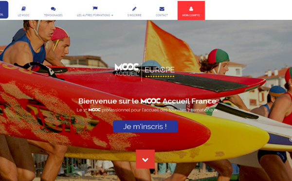 Atout France : le MOOC Accueil France reconduit en 2017