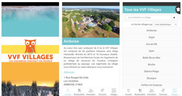 VVF Villages lance son appli mobile