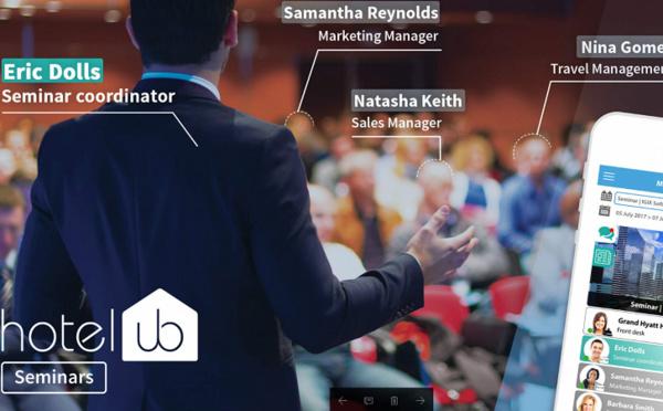 Hotelub lance un service de Séminaire Connecté
