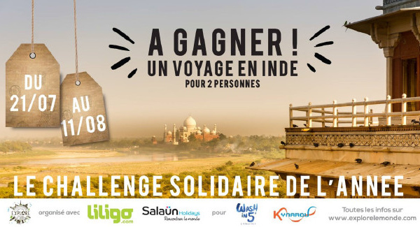 Salaün Holidays soutient le #WashIn5Challenge