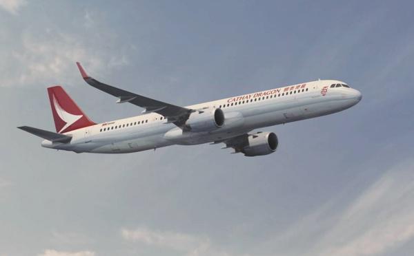 Hong Kong : Cathay Dragon commande 32 Airbus A321neo