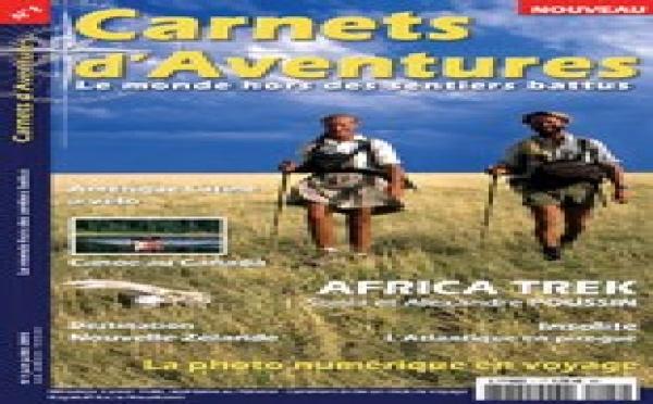 Un couple d'azuréens lance « Carnets d'aventure »