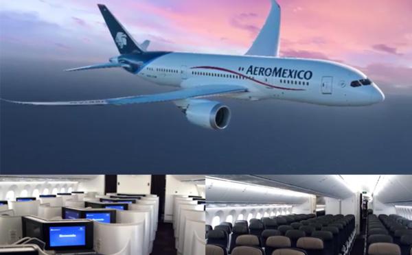 Rêvez à bord du vol de nuit d'Aeromexico, la nouvelle expérience de voyage