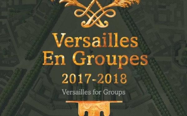 Versailles : l'Office du tourisme édite sa brochure Groupes 2017-2018
