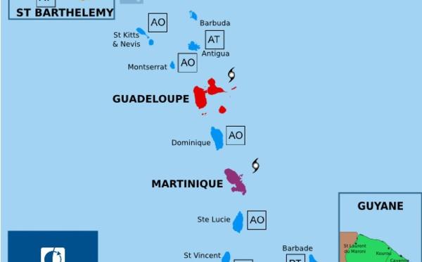 Ouragan Maria : la Martinique placée en alerte violette