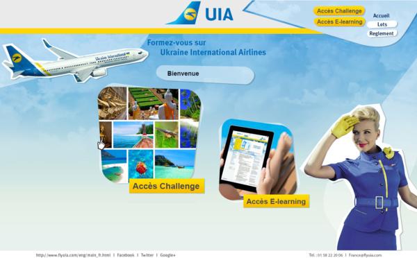 Ukraine International Airlines lance un nouveau challenge de ventes