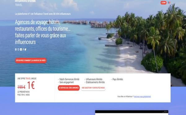 Influence4Brands lance une offre pour les pros du tourisme