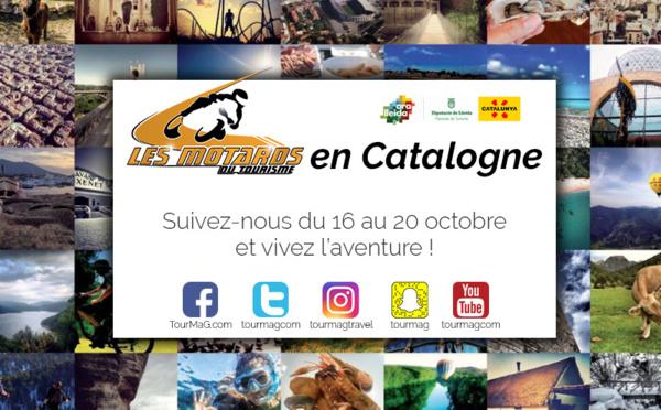 Suivez les Motards du Tourisme sur les routes de Catalogne !