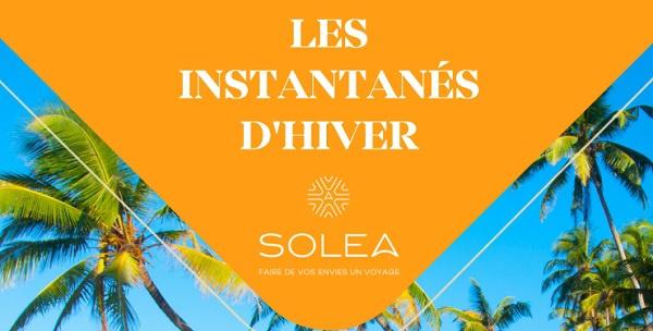 "Solea lance ses ""Instantanés d'hiver"""