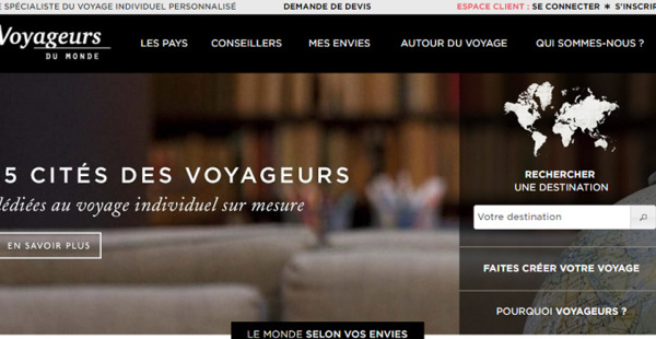 """Voyageurs du Monde prévoit une hausse """"très significative"""" de son résultat net en 2017"""